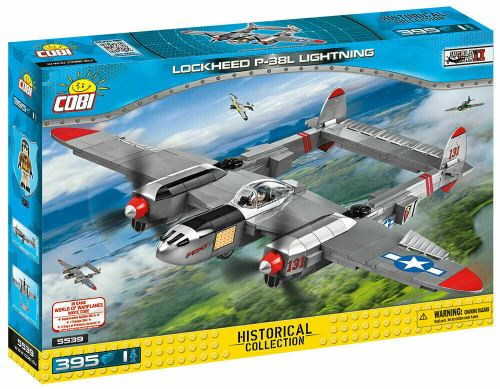 COBI - 5539 Small Army Lockheed P-38 Lightning