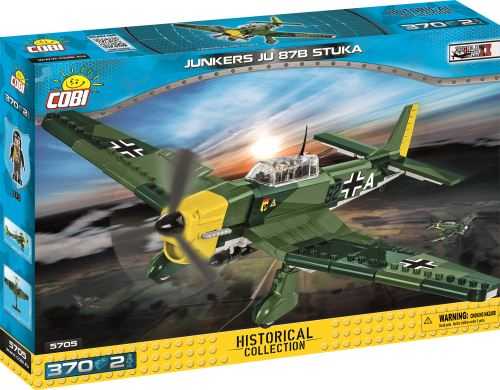 COBI - 5705 Small Army Planes Junkers Ju 87 B-2 Stuka