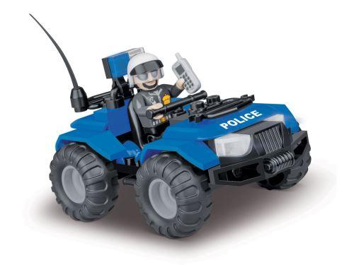 COBI - 1547 Action Town ATV Police Patrol