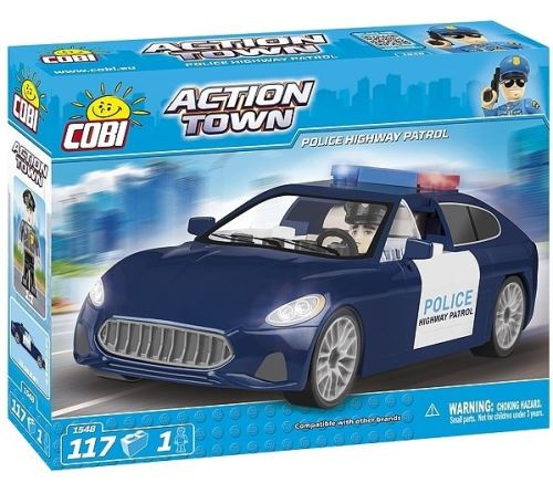 COBI - 1548 Action Town Police Highway Partol