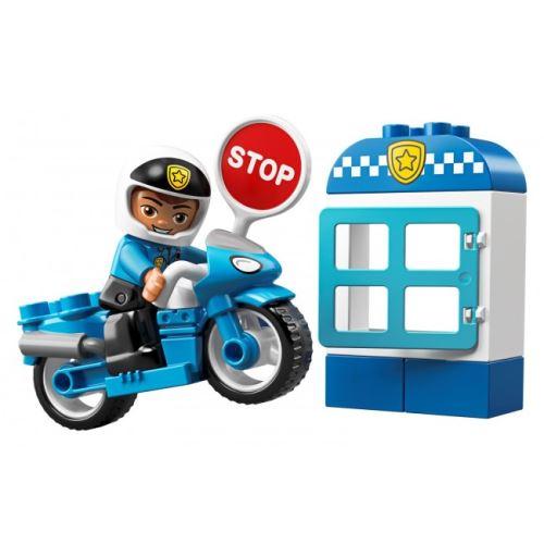 DUPLO® 10900 Polizeimotorrad