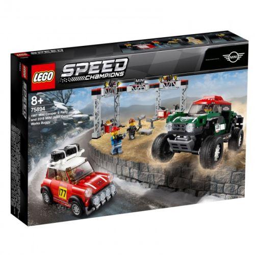 LEGO ® 75894 Speed Champions 1974 Mini Cooper S & Mini John Cooper Works Buggy