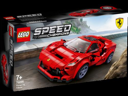 LEGO ® - Speed Champions Ferrari F8 Tributo 76895