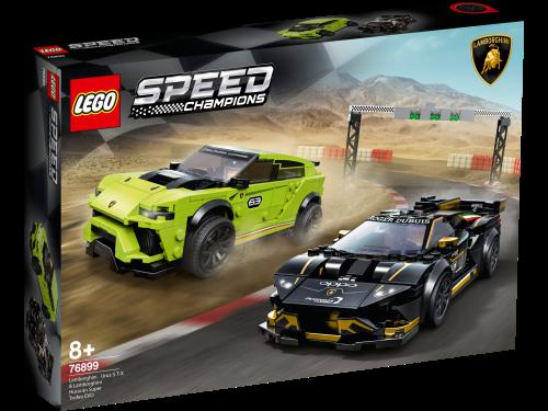 LEGO® - Speed Champions 76899 Lamborghini Urus ST-X & Lamborghini Huracán Super Trofeo EVO