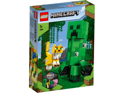 LEGO® - Minecraft - BigFig Creeper und Ozelot 21156
