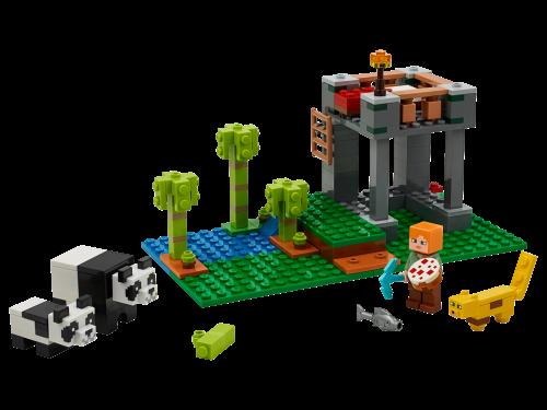 LEGO® - Minecraft - Der Panda-Kindergarten 21158