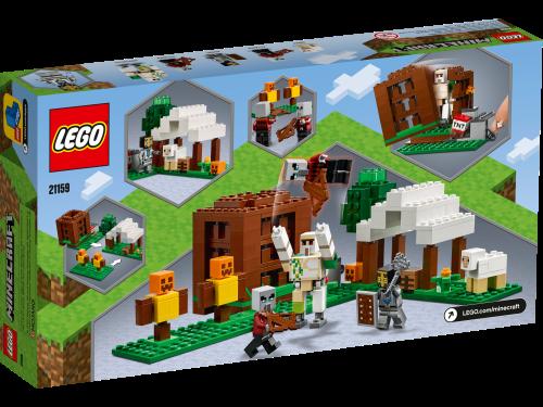 LEGO® - Minecraft - Der Plünderer-Außenposten 21159