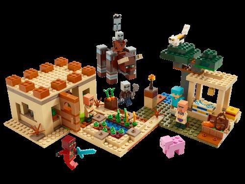 LEGO® - Minecraft - Der Illager-Überfall 21160