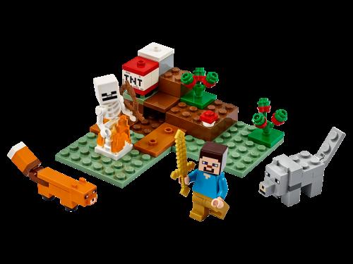 LEGO® - Minecraft - Das Taiga-Abenteuer 21162