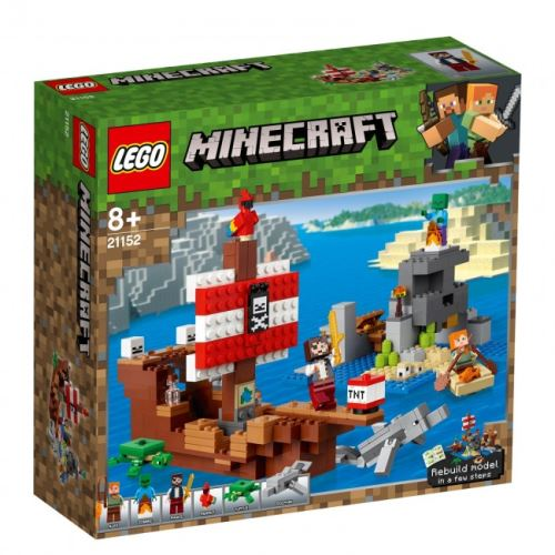 LEGO® - Minecraft - Das Piratenschiff-Abenteuer 21152