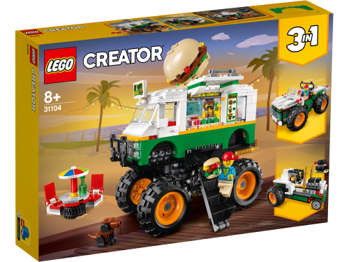 LEGO® - 31104 Creator 3-in-1 Burger-Monster-Truck