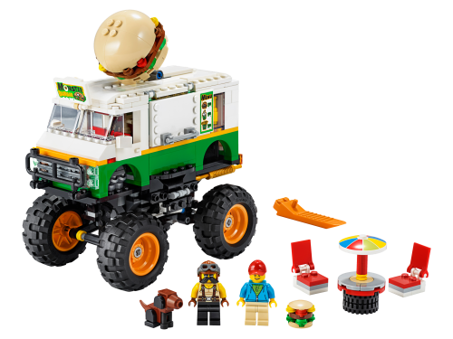 LEGO® - 31104 Creator 3-in-1 Burger-Monster-Truck