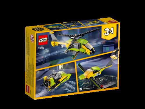 LEGO® - 31092 Creator 3-in-1 Hubschrauber-Abenteuer