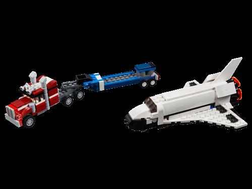 LEGO® -31091 Creator 3-in-1 Transporter für Space Shuttle