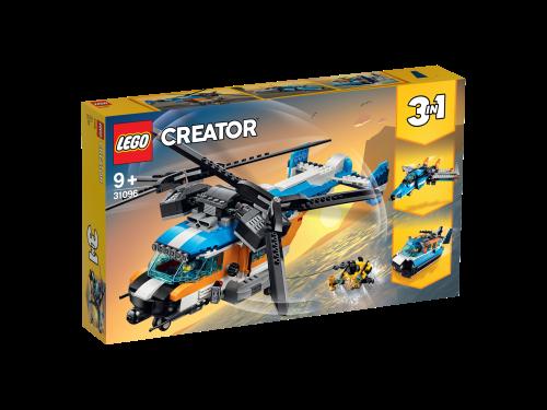 LEGO® - 31096 Creator 3-in-1 Doppelrotor-Hubschrauber