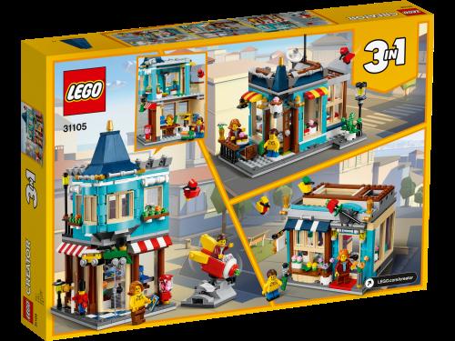 LEGO® - 31105 Creator 3-in-1 Spielzeugladen im Stadthaus