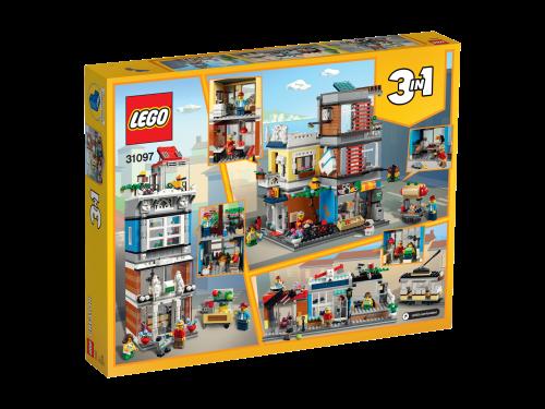 LEGO® - 31097 Creator 3-in-1 Stadthaus mit Zoohandlung & Café