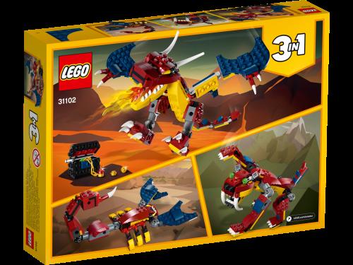 LEGO® - 31102  Creator 3-in-1 Feuerdrache