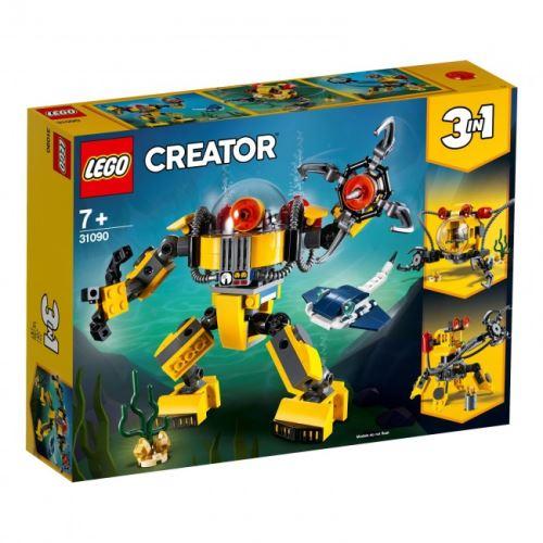 LEGO® - 31090 Creator 3-in-1 Unterwasser-Roboter