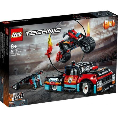LEGO® - Technic - Stunt-Show mit Truck und Motorrad 42106
