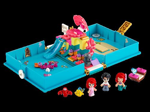 LEGO® - 43176 Disney™ Arielles Märchenbuch