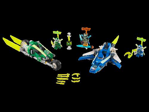 LEGO® - Ninjago - Jay und Lloyds Power-Flitzer 71709