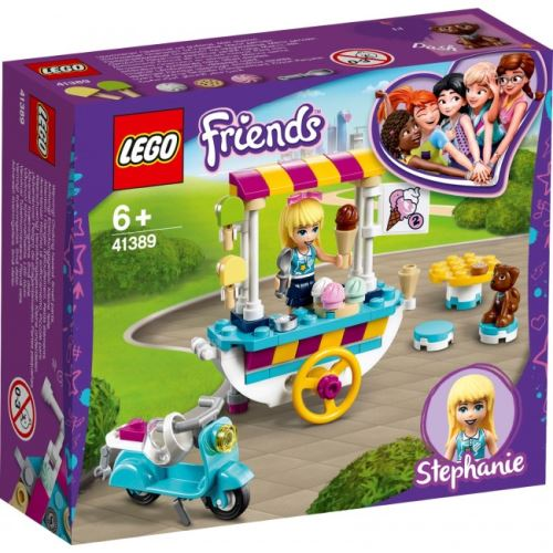 LEGO® Friends 41389 Stephanies mobiler Eiswagen
