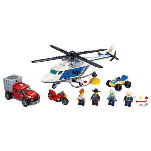 LEGO® 60243 City Verfolgungsjagd mit dem Polizeihubschrauber