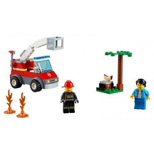 LEGO® City 60212 Feuerwehr beim Grillfest