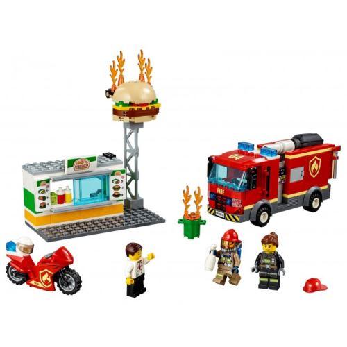 LEGO® City 60214 Feuerwehreinsatz im Burger-Restaurant