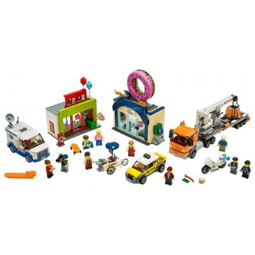 LEGO® City 60233 Große Donut-Shop-Eröffnung