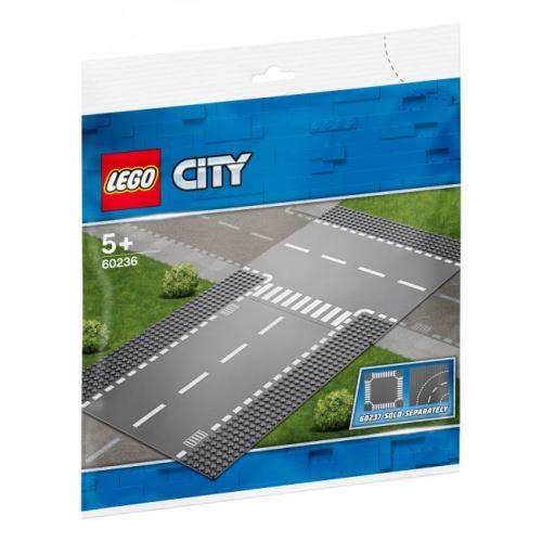 LEGO® City 60236 Gerade und T-Kreuzung
