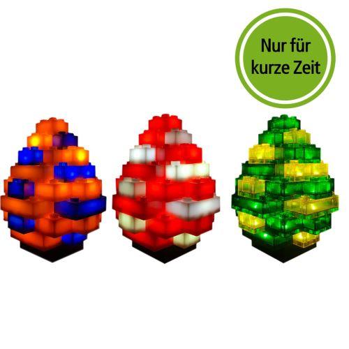 STAX® Ostereier 3 Stck. Set 1 - LEGO®-kompatibel