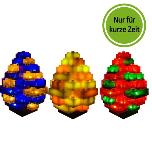 STAX® Ostereier 3 Stck. Set 2 -  LEGO®-kompatibel