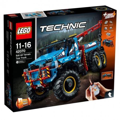 LEGO® Technic 42070 Allrad-Abschleppwagen