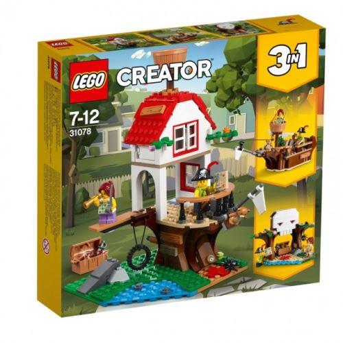 LEGO® Creator 3 in 1 31078 Baumhausschätze