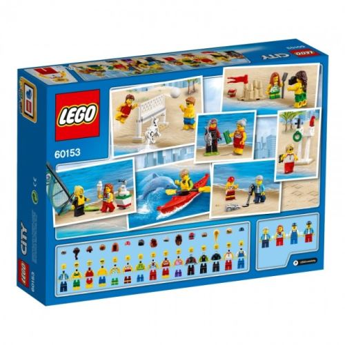 LEGO® City 60153 Stadtbewohner – Ein Tag am Strand