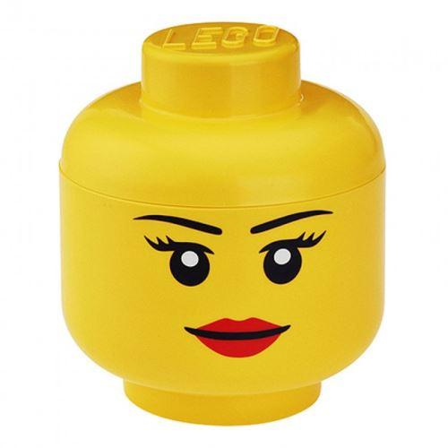 LEGO® Storage 40321725 Aufbewahrungskopf Mädchen (Gross)