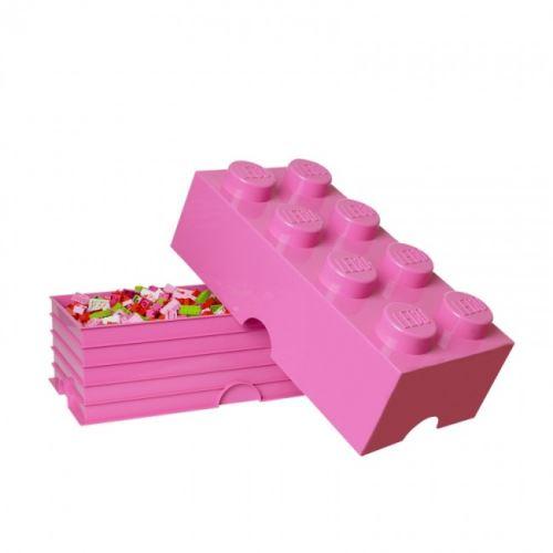 LEGO® Storage 4004 Aufbewahrungsbox 8er-Stein rosa