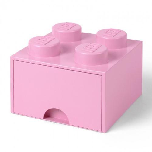 LEGO® Storage 4003 Storage Brick Schublade 2x2 Hell Rosa