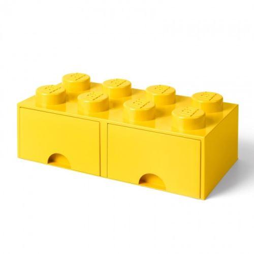 LEGO® 4004 Storage Brick Schublade 2x4 Gelb