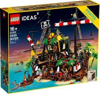 LEGO® Ideas 21322 Piraten der Barracuda-Bucht