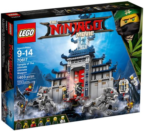 LEGO® Ninjago Movie 70617 Ultimatives Tempel-Versteck