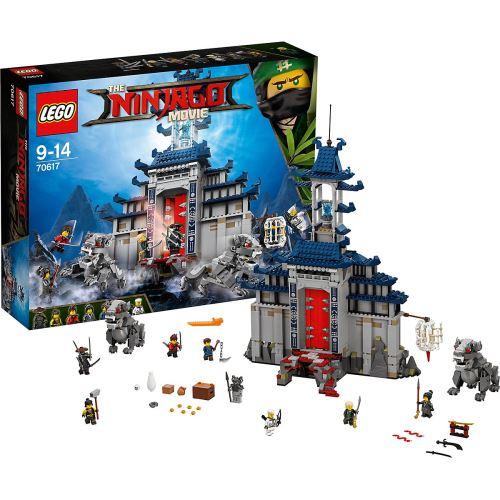 LEGO® Ninjago Movie 70617 Ultimatives Tempel-Versteck