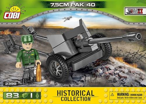 COBI - 2398 Small Army 7,5cm PAK