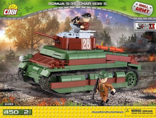 COBI - 2493 Small Army Somua S-35