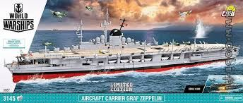 COBI - 3086 Small Army Aircraft Carrier Graf Zeppelin