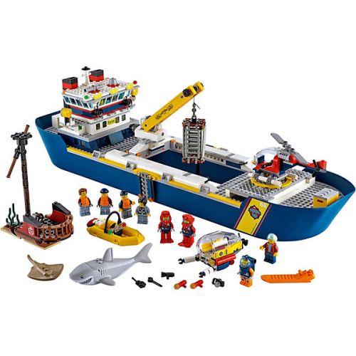 LEGO® City 60266 Meeresforschungsschiff