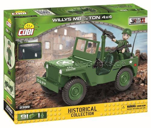 COBI 2399 Small Army U.S. Army Truck 1/4