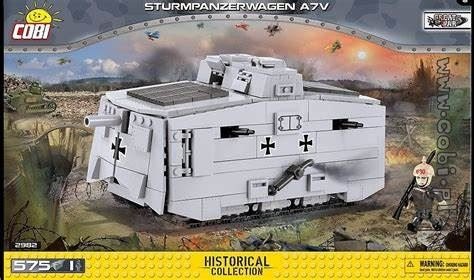 COBI Small Army 2982 Sturmpanzerwagen A7V